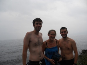 Lake Baikal swimming