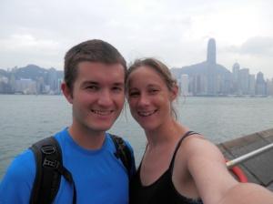 Glorious HK weather