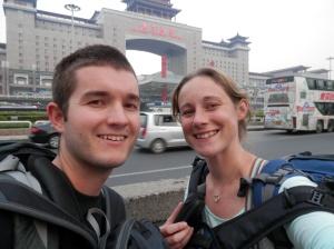 Beijing train station