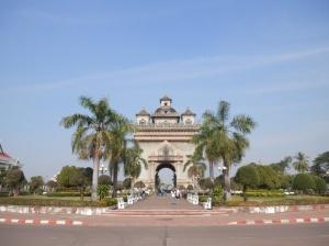 Vientiane's Paris-y bit