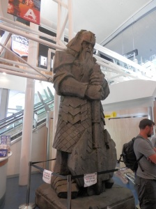 This guy was also waiting for us at the airport