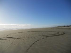 Omar Sharif style on 90 Mile Beach