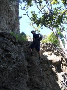 It was steeper than it looks
