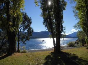 Te Anau in the sunshine