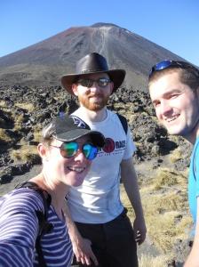 Mount Doom selfie