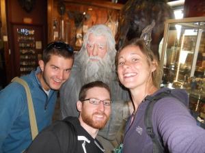 Gandalf selfie