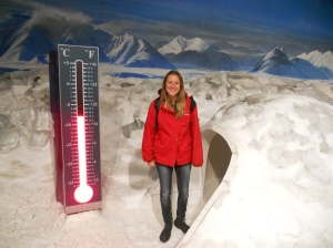 Chilling out in the Antarctic storm chamber