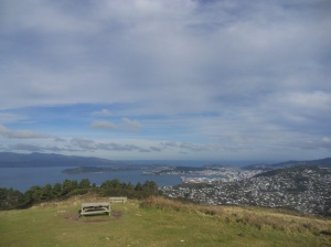 The view from Mount Kaukau over to Wellington city.