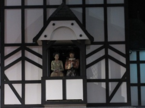 Two households, both in the Stratford glockenspiel