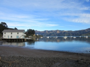Akaroa on the Banks Peninsula