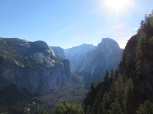Half Dome and Yosemite Valley