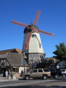 Solvang - are windmills Danish?