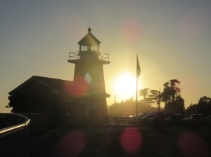 Santa Cruz lighthouse and surf museum