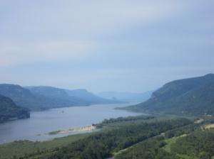 The Columbia a River vista!