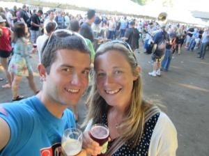 Brewfest selfie