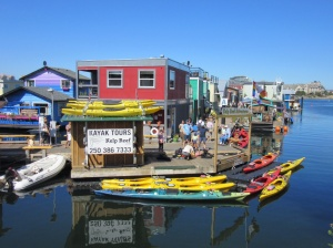 Floating houses in Victoria